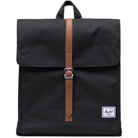 Herschel City Mid-Volume Zaino 14l, black/tan